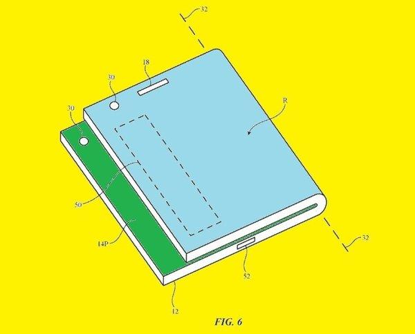 双屏iPhone新专利让你在折叠状态下也能浏览通知