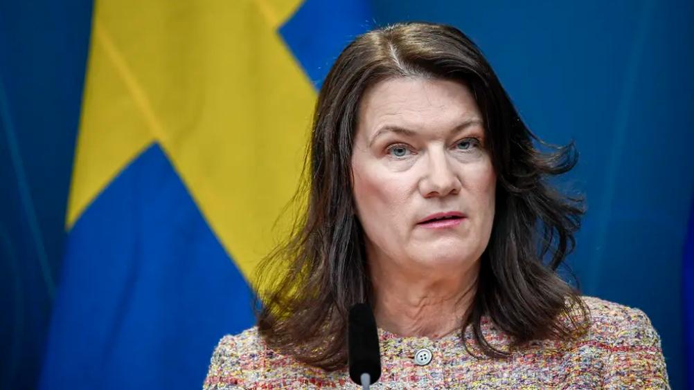 △瑞典外交大臣安·林德