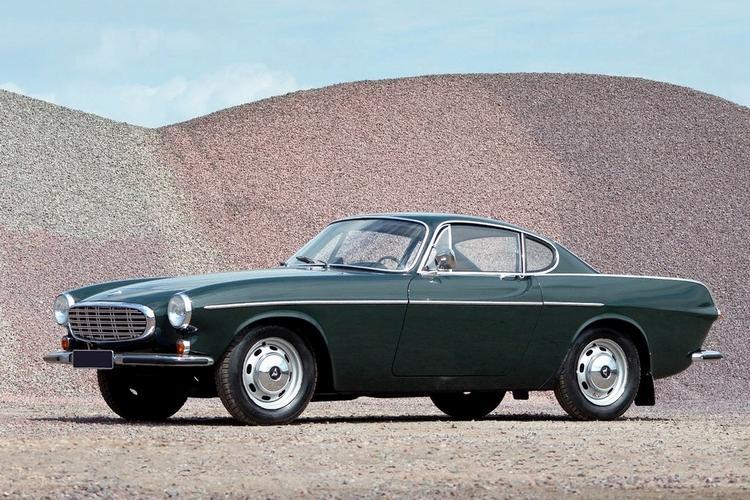 上图为1960年代P1800车型