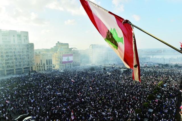 """""""阿拉伯之春""""口号再现,黎示威"""
