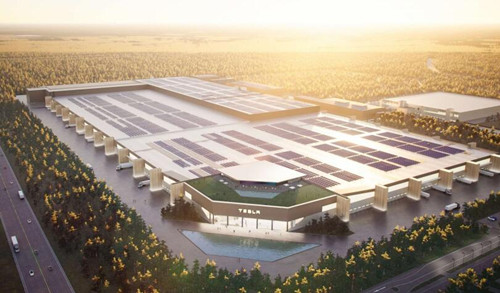 特斯拉柏林超级工厂有3栋建筑正在施工 大量预制件已进场
