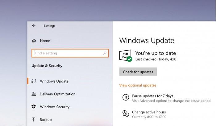 新的Windows 10累积更新今天将推送到用户