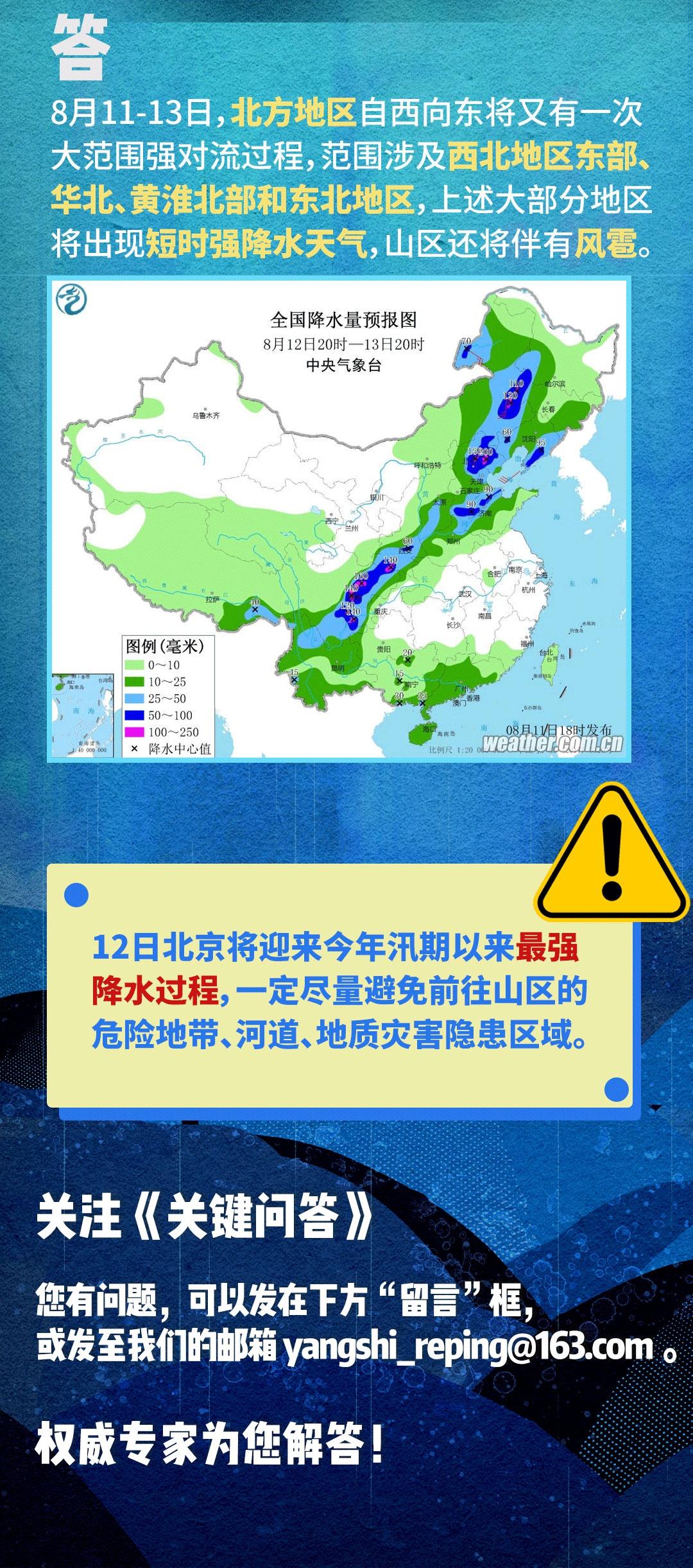 北京迎入汛最强降雨 强对流天气为何这么猛?