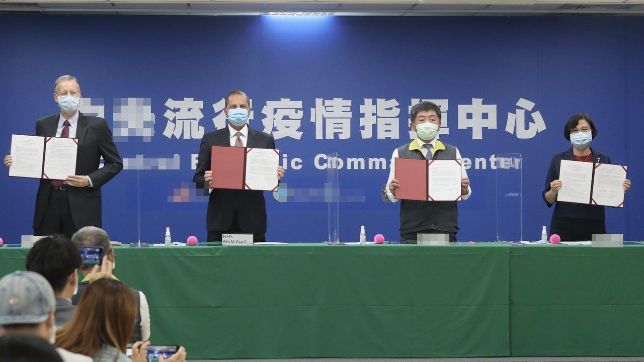 台学者:无法解决台湾疫苗需求 美卫生部长这次白来了