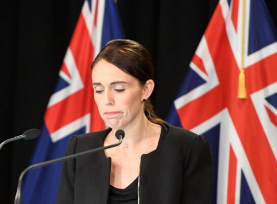 新西兰总理阿德恩(图源:路透社)