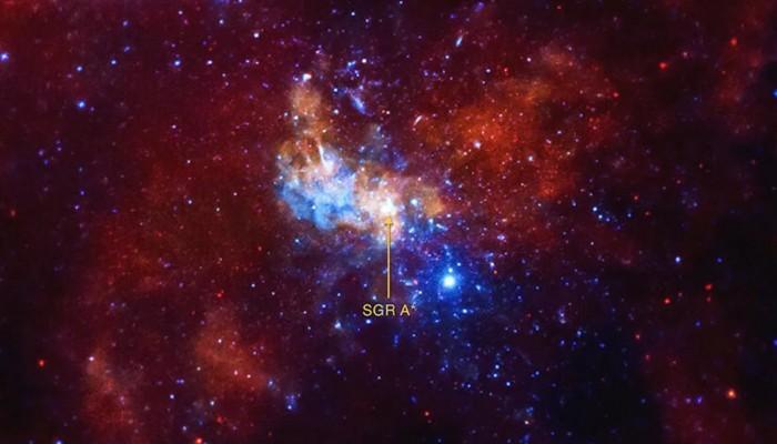 银河系超重黑洞周围发现最快恒星:速度约为光速的8%