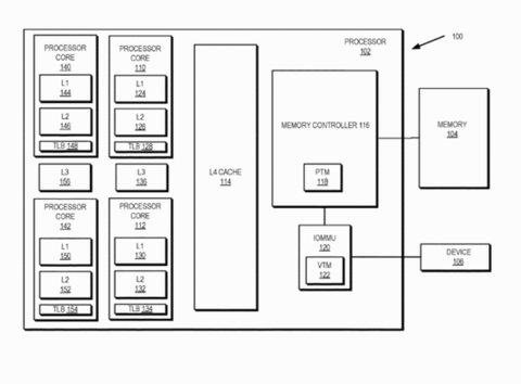 未来的AMD Ryzen和Epyc CPU或将搭载4级缓存(L4)