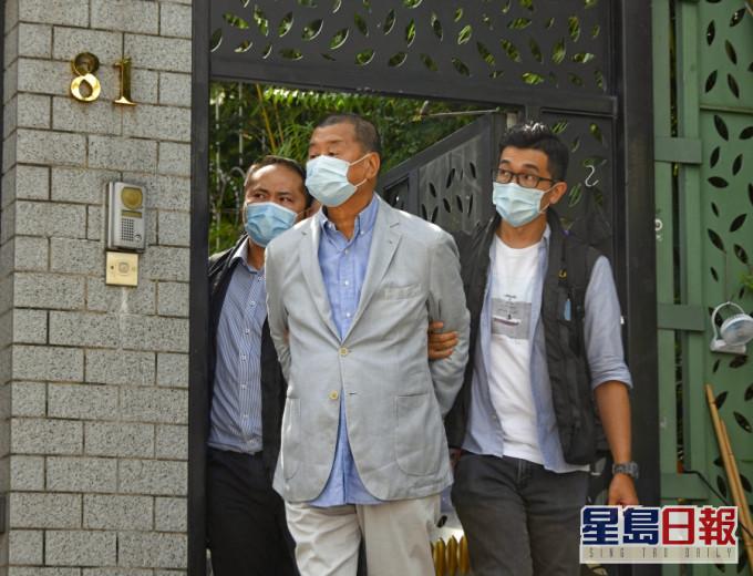 港媒:消息称黎智英案会继续由香港警方国安处调查