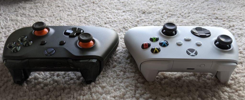 次世代Xbox手柄与本世代对比:尺寸更小 按键更紧凑