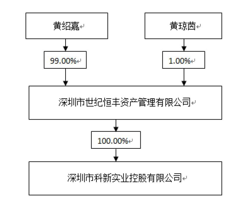 ST山水易主:科新控股成立不满10天,黄绍嘉手握多公司实控权
