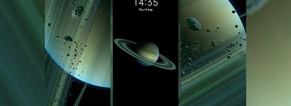 小米10至尊纪念版同款:MIUI 12土星超级壁纸提取版下载
