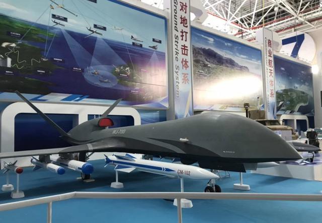 太帅!国产新型无人机挂反辐射导弹打雷达 喷气引擎成标配