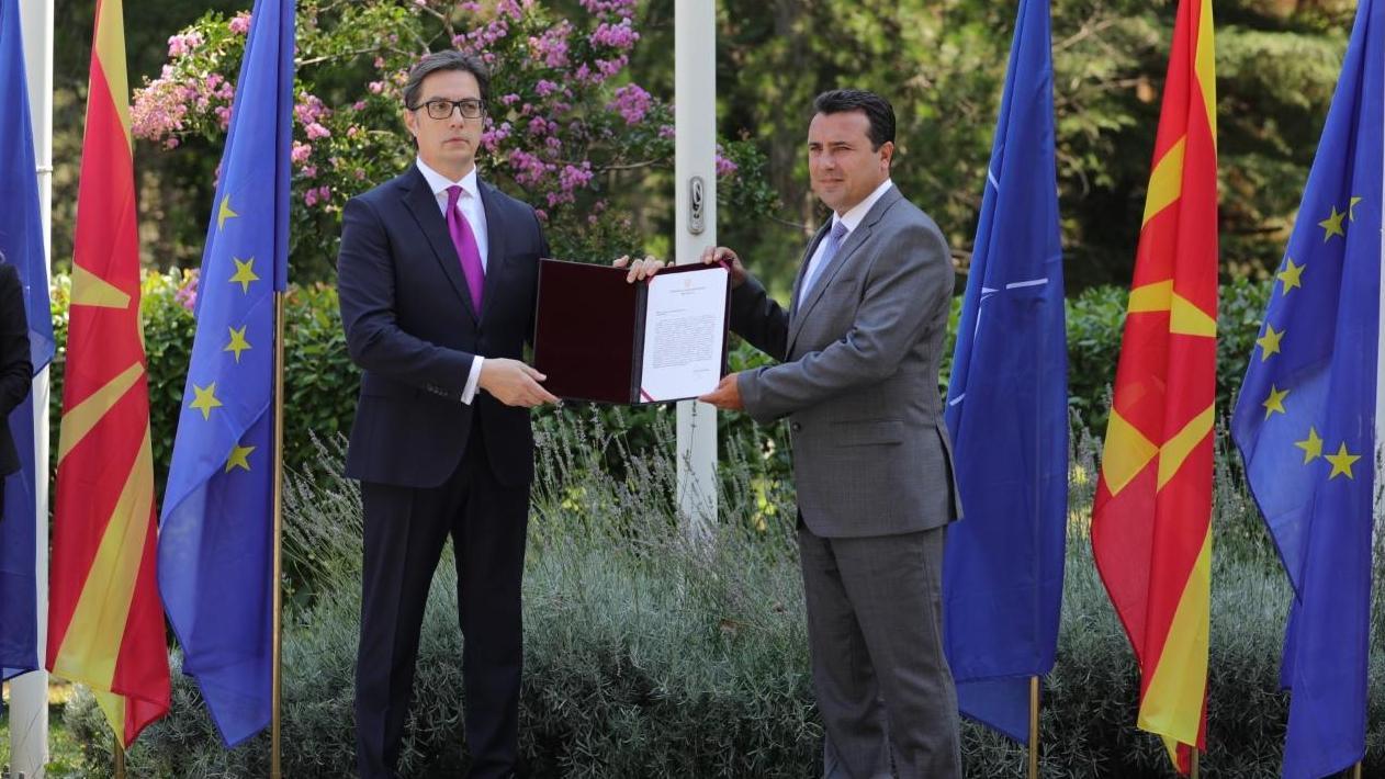 北马其顿前总理扎埃夫获总统授权20天内组建新政府