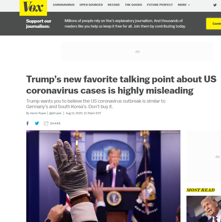 外媒:美政府仍在用误导性的语言欺骗民众