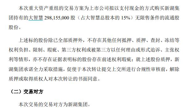 刚收购湘财证券又要买!哈高科拟27亿元入股大智慧,打造金融科技平台