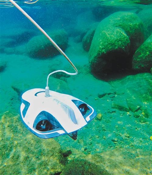 水下智能清洗机器人投用