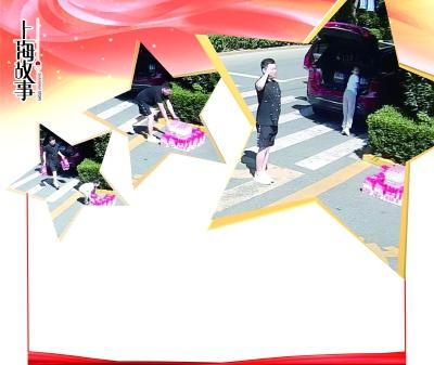 """他带着小女孩给上海武警搬来12箱水武警官兵:你是谁?如果你是老兵,欢迎你""""回家""""看看"""