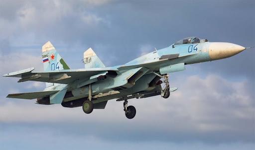 俄空天军在波罗的海中立海域拦截一架美军侦察机
