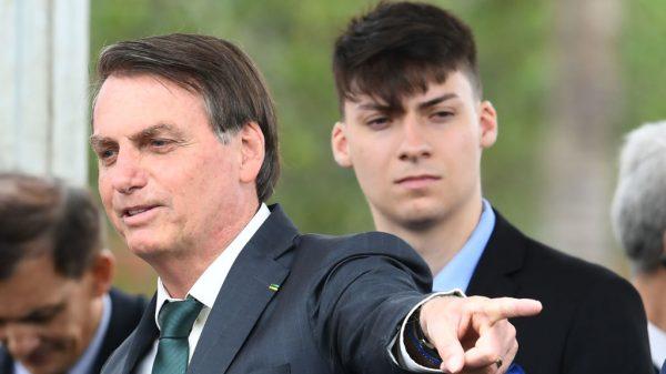 巴西总统小儿子感染新冠病毒(图源:Getty)