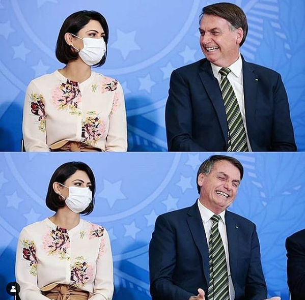 巴西总统夫妇(instagram)