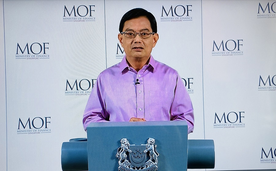 △新加坡副总理兼经济政策统筹部长及财政部长王瑞杰
