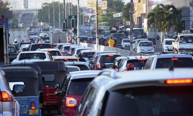 斯里兰卡全国断电7小时 首都交通陷入混乱