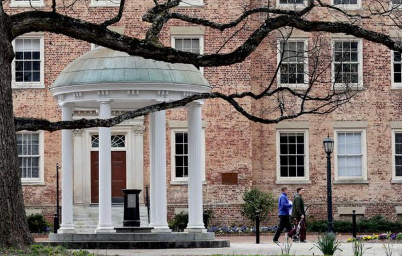北卡罗莱纳大学教堂山分校:19日起在网上进行授课
