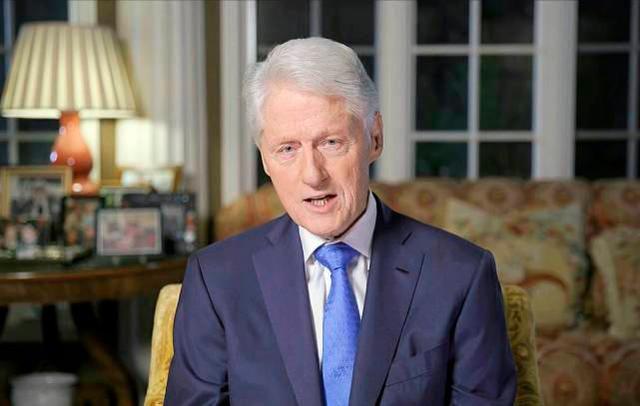 前美国总统比尔·克林顿