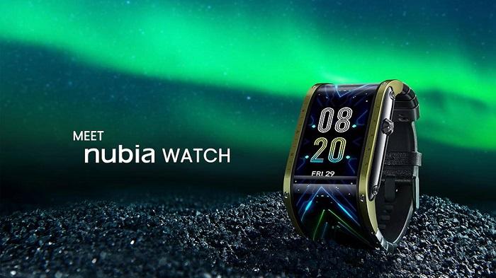 Nubia柔性屏智能表一小时内达成筹款目标