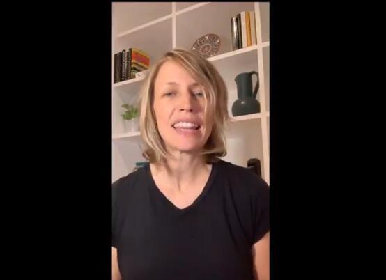 △TikTok美国总司理瓦妮莎·帕帕斯在推特上公布视频 (图片泉源:推特)