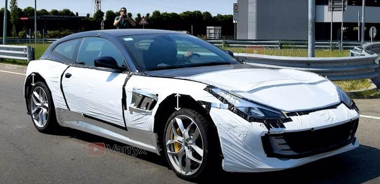 """法拉利首款""""SUV""""或将搭载基于V12发动机的插混动力?"""