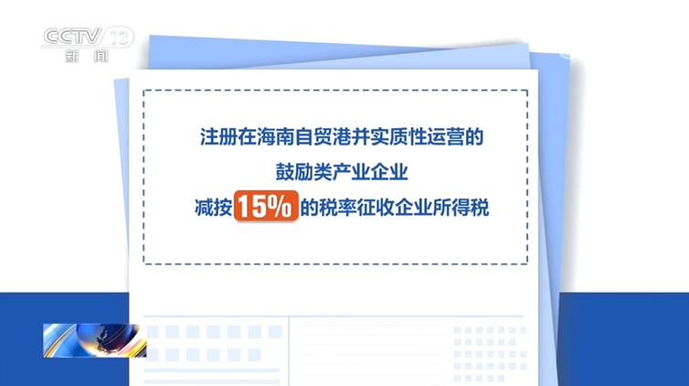 由贸易港发布优惠政策赢咖3鼓励类产业企,赢咖3图片