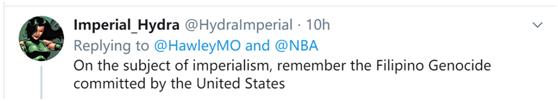 """被NBA球星球衣""""黑人的命也是命""""等标语刺痛后,美反华议员开始无下限碰瓷中国"""