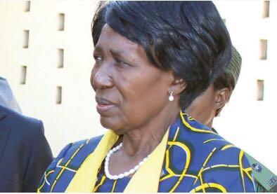 △赞比亚副总统,图片来源:赞比亚国家电视台ZNBC官网