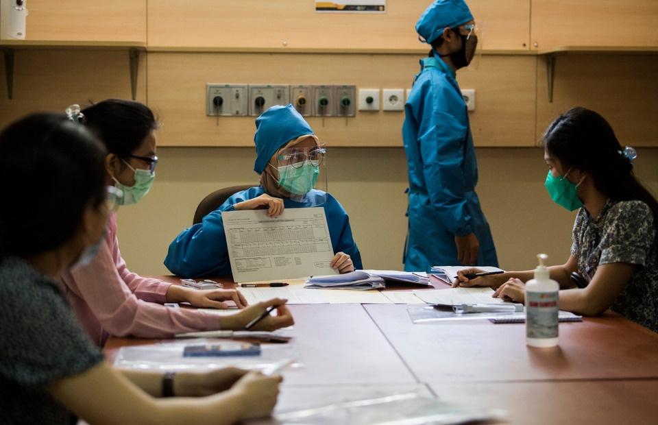 印尼新增2266例新冠肺炎确诊病例 累计确诊147211例