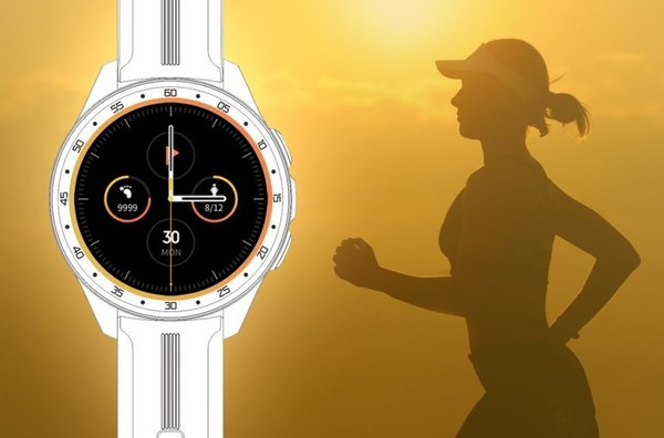 vivo智能手表渲染图曝光圆形表盘设计或主打运动健康
