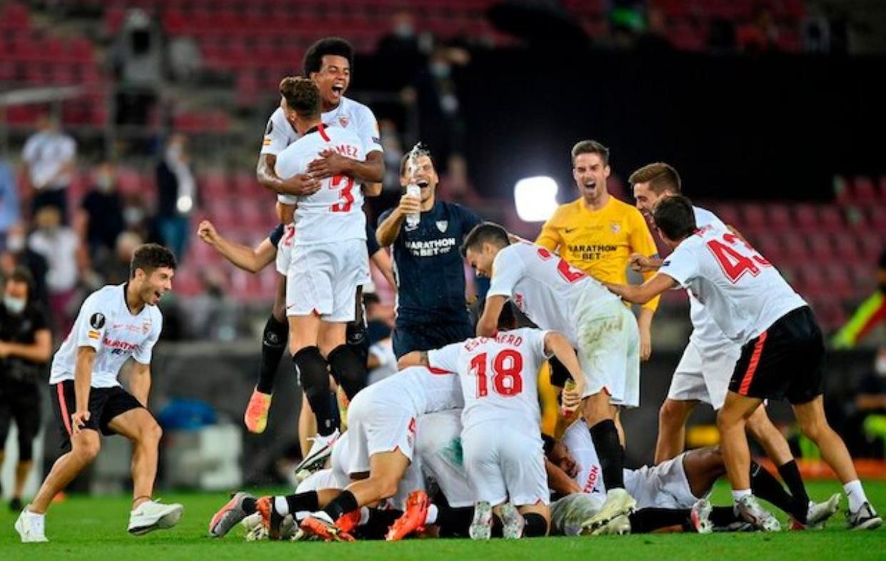 塞维利亚击败国际米兰 队史第六次收获欧联杯冠军