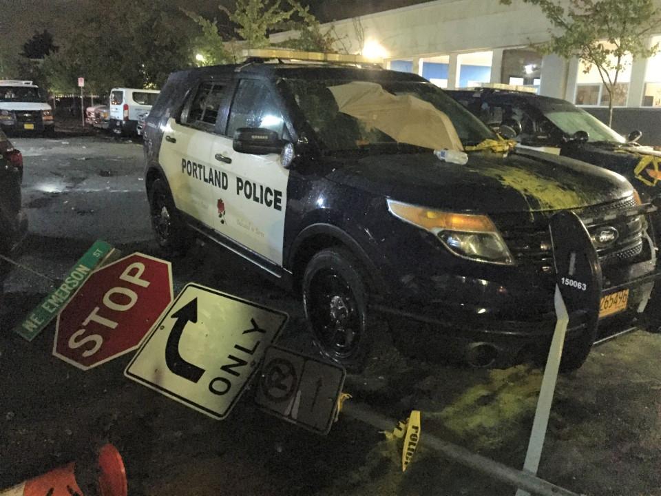 美国波特兰再度发生骚乱 9人被捕