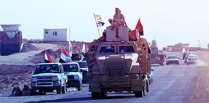 伊拉克剿灭巴格达北部一极端组织重要窝点