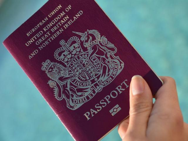 BNO护照(图源:Getty)