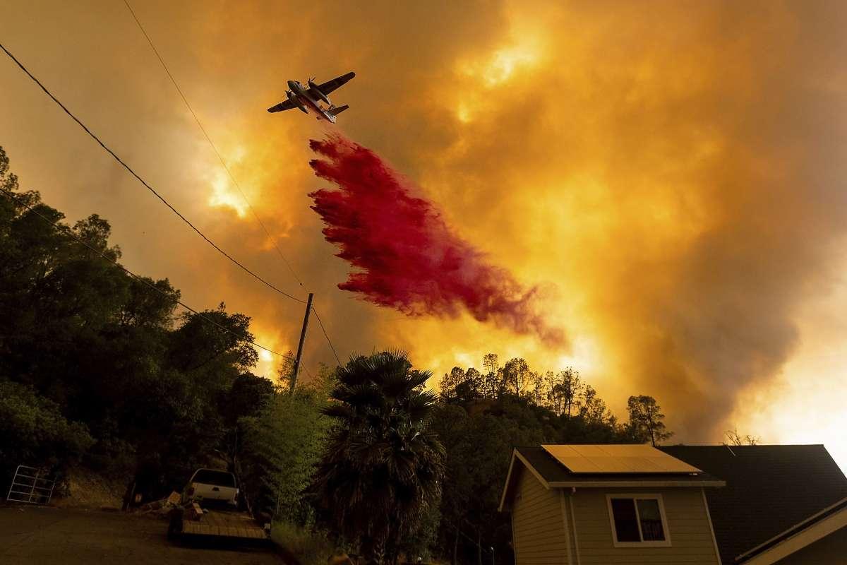 美国北加州LNU闪电山火已成为该州史上第二大山火