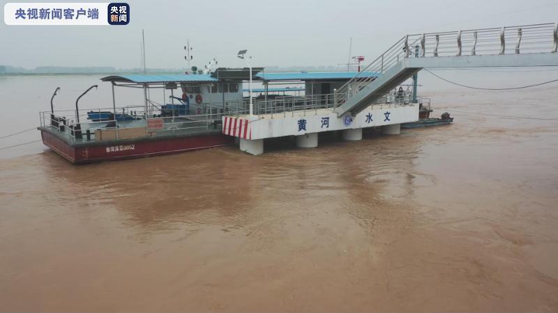 黄河大流量水头进入山东 浮桥已全部拆除