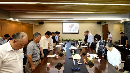 侵华日军南京大屠杀遇难同胞纪念馆举行谈臻律师追思会