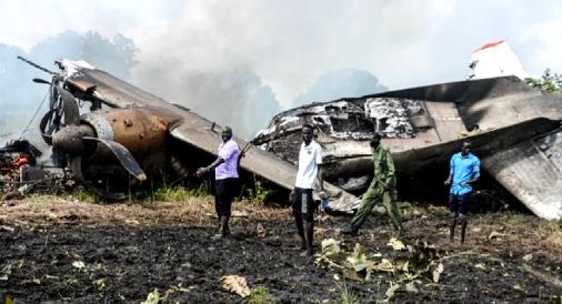 货运飞机空难事故致8人遇难 南苏丹总统基尔表示哀悼