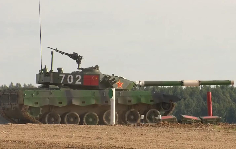 """首战告捷!中国队获""""坦克两项""""首场小组赛第一"""