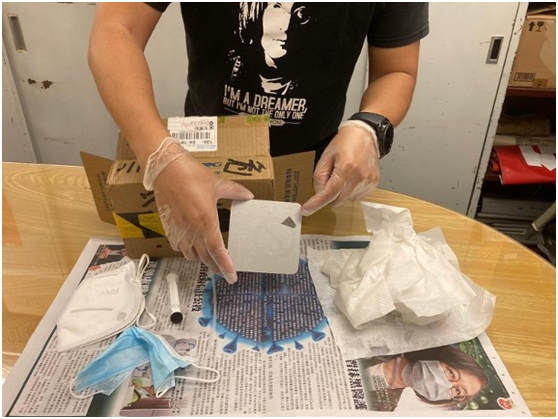 """有人给岑子杰寄含刀片""""恐吓""""包裹?香港网民质疑"""