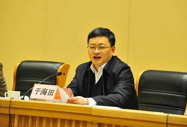 淄博市长于海田,任山东省工信厅党组书记(图/简历)