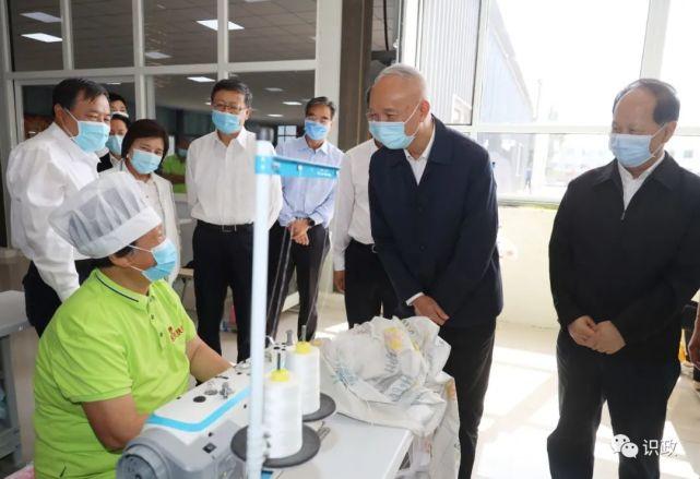 老党员丁佩贤感谢来自北京的帮扶