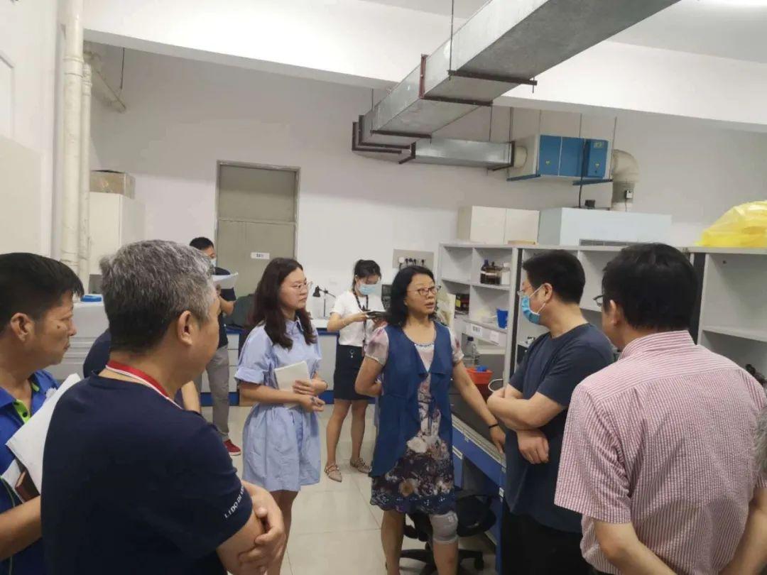 党委常委刘群清带队开展2020年度实验室  安全专项检查工作