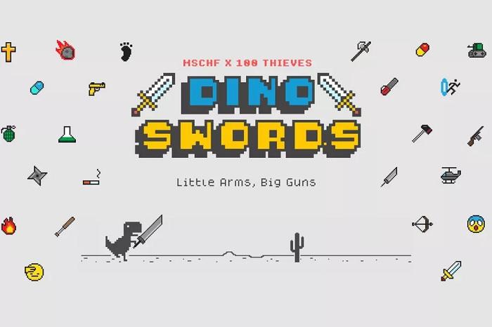 修改版《Dino Swords》小游戏为Chrome离线霸王龙带来了一批新武器